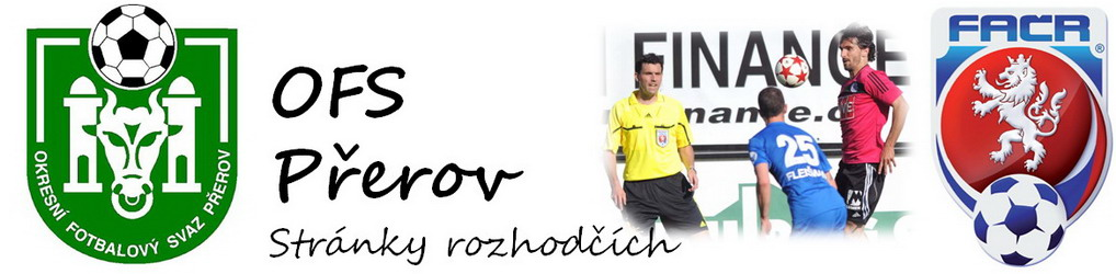 Oficiální stránky rozhodčích OFS Přerov